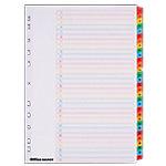 Office Depot Numeriek gekleurde tabbladen A4 Wit 31 tabs 11 gaats Mylar® 1 t