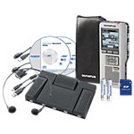 Olympus Voice recorder kit DS 2500 + AS2400