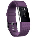 fitbit Activiteitsmeter Charge 2 Paars, Zilver