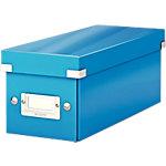 Leitz Archiefdozen Click & store Blauw Karton, pp folie 14,3 x 35,2 x 13,6 cm