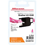 Office Depot Compatible Brother LC1240M Inktcartridge Magenta