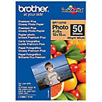 Brother BRBP71GP50 Glossy Photo Paper A6 190 g