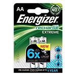 Energizer Batterijen Rechargeables Extreme AA 2 Stuks