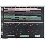 Legamaster Planner Professional Zwart 120 x 90 cm