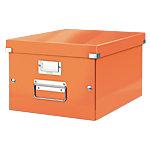 Leitz Opslagbak Click & Store A4 Metallic oranje Metaal, Polypropyleen, Hardboard 28,1 x 37 x 20 cm 6