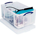 Really Useful Boxes Opbergdozen 64 l Transparant 440 x 710 x 310 mm