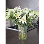 Bunchmakers Bloemenboeket Luxury Wit, groen