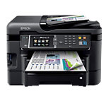 Epson Inkjetprinter A4 4 in 1 Workforce WF 7515 Zwart