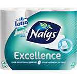 Nalys Toiletpapier Just 1 5  laags Wit 6 x 73 Vel