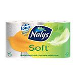 Nalys Toiletpapier Soft 2  laags Wit 8 x 150 Vel