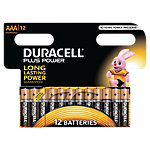 Duracell Batterijen AAA Plus Power Duralock LR03 12 Stuks