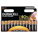 Duracell Batterijen AA Plus Power Duralock LR6 12 Stuks