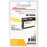 Office Depot Compatible HP 933XL Inktcartridge CN056AE Geel