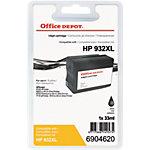 Office Depot Compatible HP 932XL Inktcartridge CN053AE Zwart