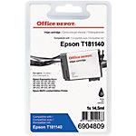 Office Depot Compatible Epson 18XL Inktcartridge C13T18114010 Zwart