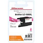 Office Depot Compatible Brother LC1280XLM Inktcartridge Magenta