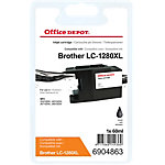 Office Depot Compatible Brother LC1280XL BK Inktcartridge Zwart