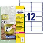 Avery L4776REV 20 Etiketten Wit 99,1 mm 20 Vel 240 Stuks