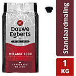 Douwe Egberts Snelfilterkoffie Roodmerk standaardmaling 1 kg