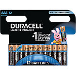 Duracell Batterijen AAA Ultra Power Duralock LR03 12 Stuks