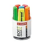 STABILO BOSS Original Tekstmarkers Schuine punt 2   5 mm Kleurenassortiment 6 Stuks