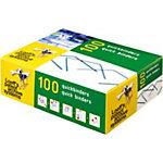 Loeff's Patent Quickbinders 531535 Groen Metalen binnenkern met daaromheen polypropyleen 100 mm 100 Stuks