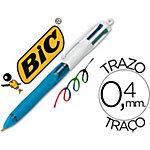 BIC 4 kleuren Balpennen 0.4 Kleurenassortiment