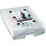 HAN 2016693 Systeemkaartenbak Grijs A8 2000 kaarten Kunststof 21,5 x 6,8 cm