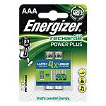 Energizer Batterijen Rechargeable AAA 2   pk 2 Stuks