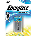 ENERGIZER Batterijen 9V Advanced 1 Stuk