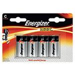 Energizer Max Batterijen C 4 Stuks