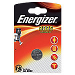 Energizer Knoopcelbatterij Miniatures CR2025 1 Stuk