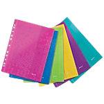 Leitz Showhoes WOW A4 Paars,roze,blauw,oranje Polypropylene 23,4 x 0,8 cm 6 Stuks