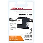 Office Depot Compatible Brother LC223BK Inktcartridge Zwart