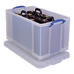 Really Useful Boxes Archiefboxen A4 Transparant Plastic 84,0 l