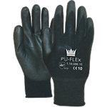 Handschoenen Flex Polyurethaan 9 Zwart 2 Stuks