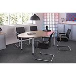 Bisley Hoekbureau rechts V Desk Ahorn 213 x 114 x 68