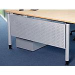 Bisley Frontpaneel V Desk Zilver 120 cm de largeur