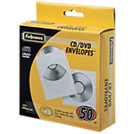Fellowes CD omslagen 90690 Plastic, Papier Wit voor 1 CD