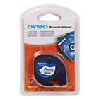 DYMO Labels Plastic 91201 Zwart op Wit 12 mm x 4 m