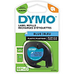 DYMO Labels Plastic 91205 Zwart op Blauw 12 mm x 4 m