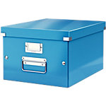Leitz Opslagbak Click & Store A4 Metallic blauw MDF 28,1 x 37 x 20 cm