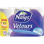 Lotus Toiletpapier Velours 3  laags Wit 24 Rollen