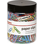 Office Depot Paperclips Kleurenassortiment 33 mm 500 Stuks