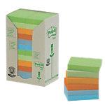 Post it 653 1RPT Recycled Notes Kleurenassortiment Blanco 38 x 51 mm 38 x 51 mm 70 g