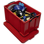 Really Useful Box Opbergbak 84 l 440 x 710 x 380 mm Rood