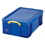 Really Useful Box Transportbakken 50 l polypropyleen 440 x 710 x 230 mm Blauw Stuks