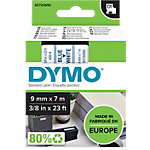 DYMO Labels D1 40914 Blauw op Wit 9 mm x 7 m