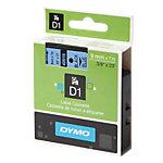 DYMO Labels D1 40916 Zwart op Blauw 9 mm x 7 m