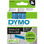 DYMO Labels D1 45016 Zwart op Blauw 12 mm x 7 m